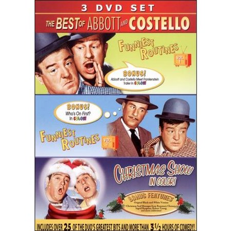The Best Of Abbott And Costello: Funniest Routines, Vols. 1 & 2/Christmas (Best Christmas Shows In Branson)