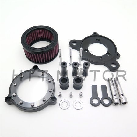 - HTT-MOTOR Air Cleaner Intake Filter Systems For Harley Sportster XL 883 1200 04-15 Custom