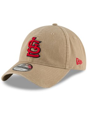 Product Image St. Louis Cardinals New Era Core Classic Secondary 9TWENTY  Adjustable Hat - Khaki - OSFA 6fb6fb410b6