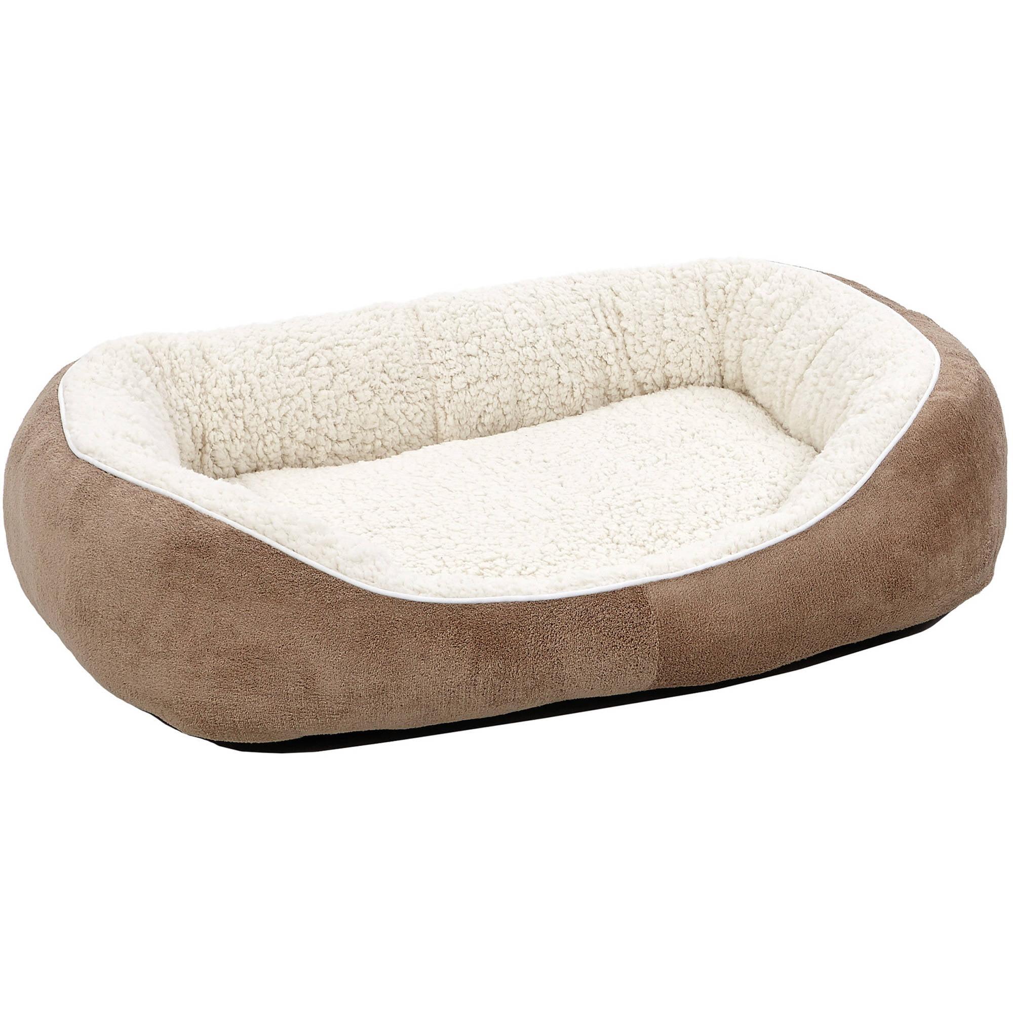 Midwest Medium Taupe Cuddle Bed