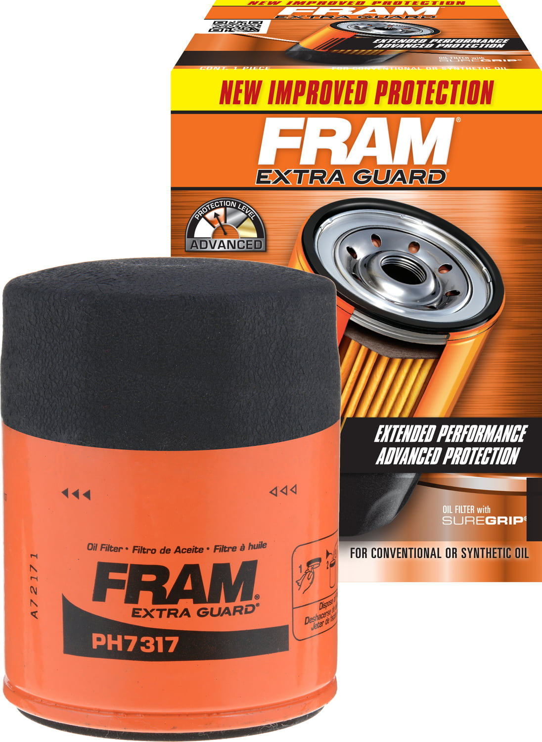 FRAM CH11934 Extra Guard Oil Filter