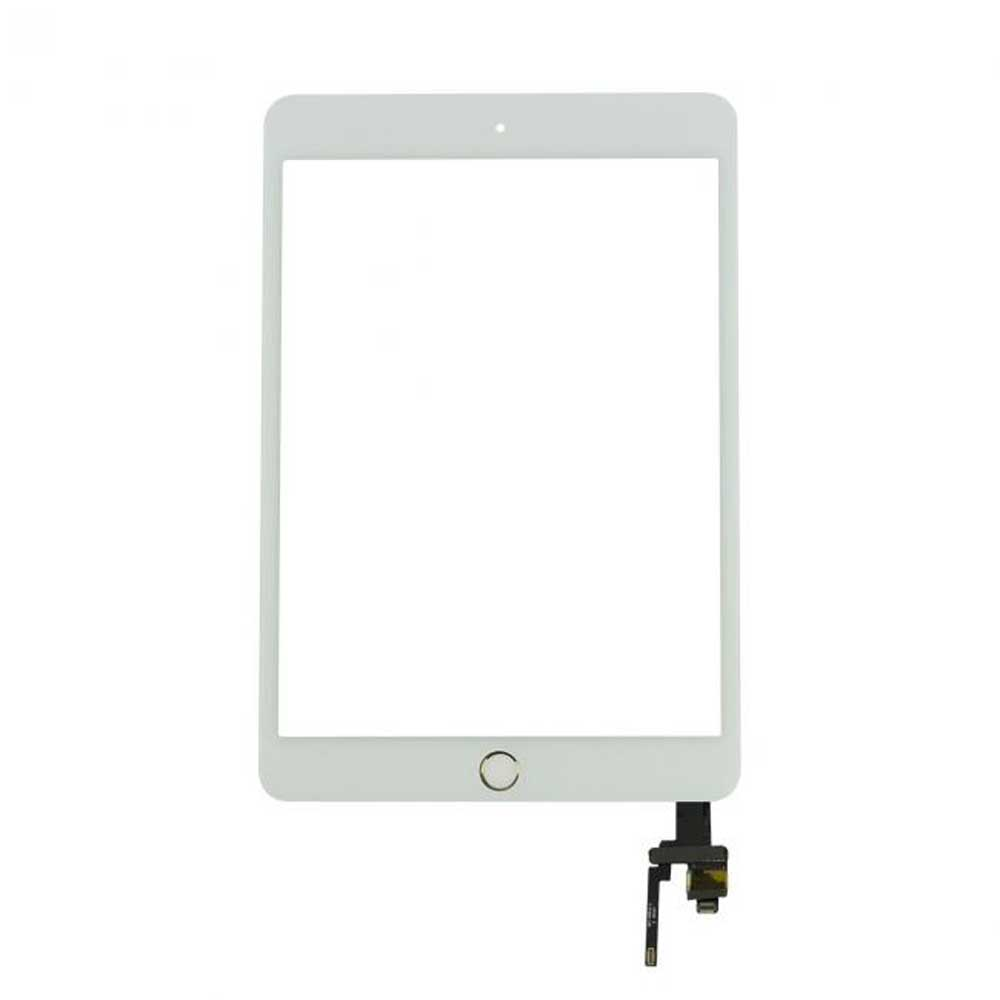 Group Vertical® Replacement White Glass Touch Screen Digi...