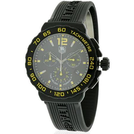 Tag Heuer Formula 1 Rubber Chronograph Mens Watch CAU111E.FT6024 Tag Heuer Formula 1 Mens Watch