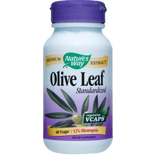 Olive Leaf Extract Standardized Nature's Way 60 Caps