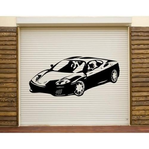 Style and Apply Sports Car Wall Decal