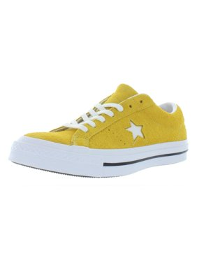 ac6024d82486 Product Image Mens Converse One Star OX Mineral Yellow White Black 161241C