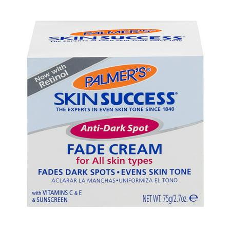 Succès peau Crème Anti-tache sombre Fade pour tous les types de peau 2.7 OZ