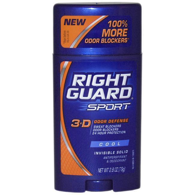 Right Guard Sport Triathlon Performance Invisible Solid Deodorant, 2.8 OZ