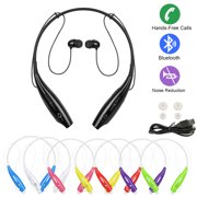 imountek bluetooth sports wireless headphones with noise reduction - green