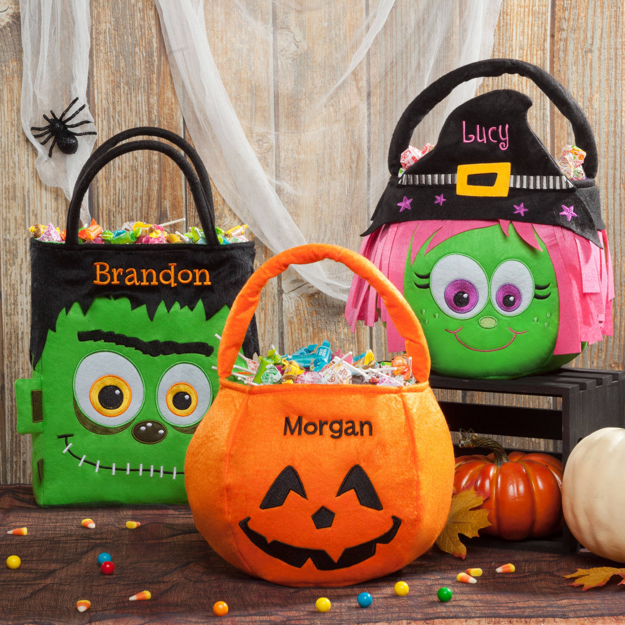 Personalized Halloween Basket