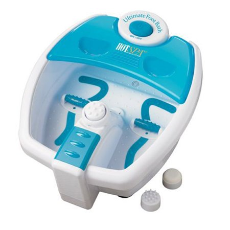Hot Spa 61360 Ultimate Foot Bath, White/Aqua