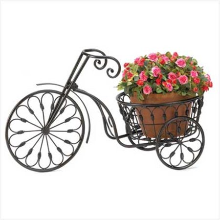 Home Locomotion 10013185 Bicycle Plant Stand - image 2 de 2
