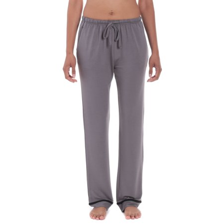 Noble Mount Women's Jersey Knit French Terry Lounge Pants