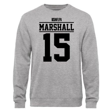 Marshall Player (Brandon Marshall NFLPA Player Issued Sweatshirt - Ash )