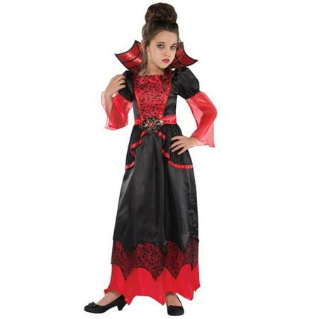 Vampire Queen Costume Girls Large 12-14 for $<!---->