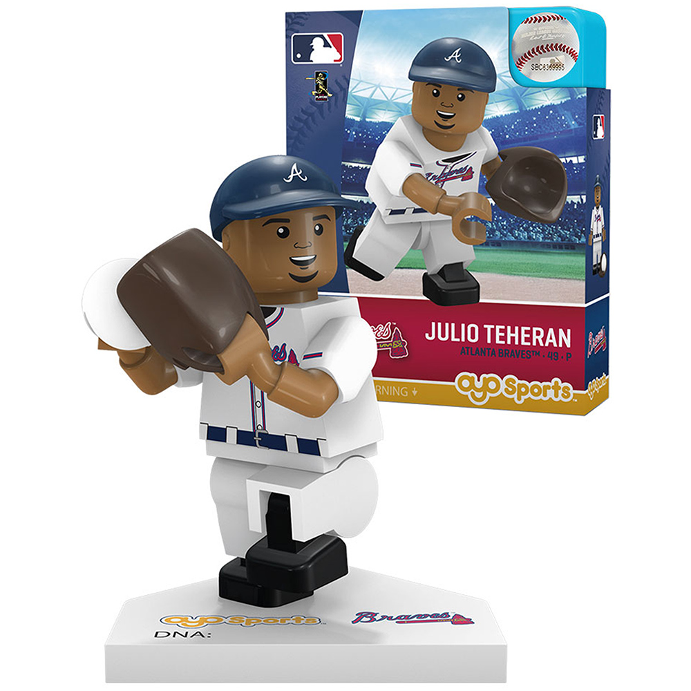 Julio Teheran Atlanta Braves OYO Sports Player MLB Minifigure - No Size
