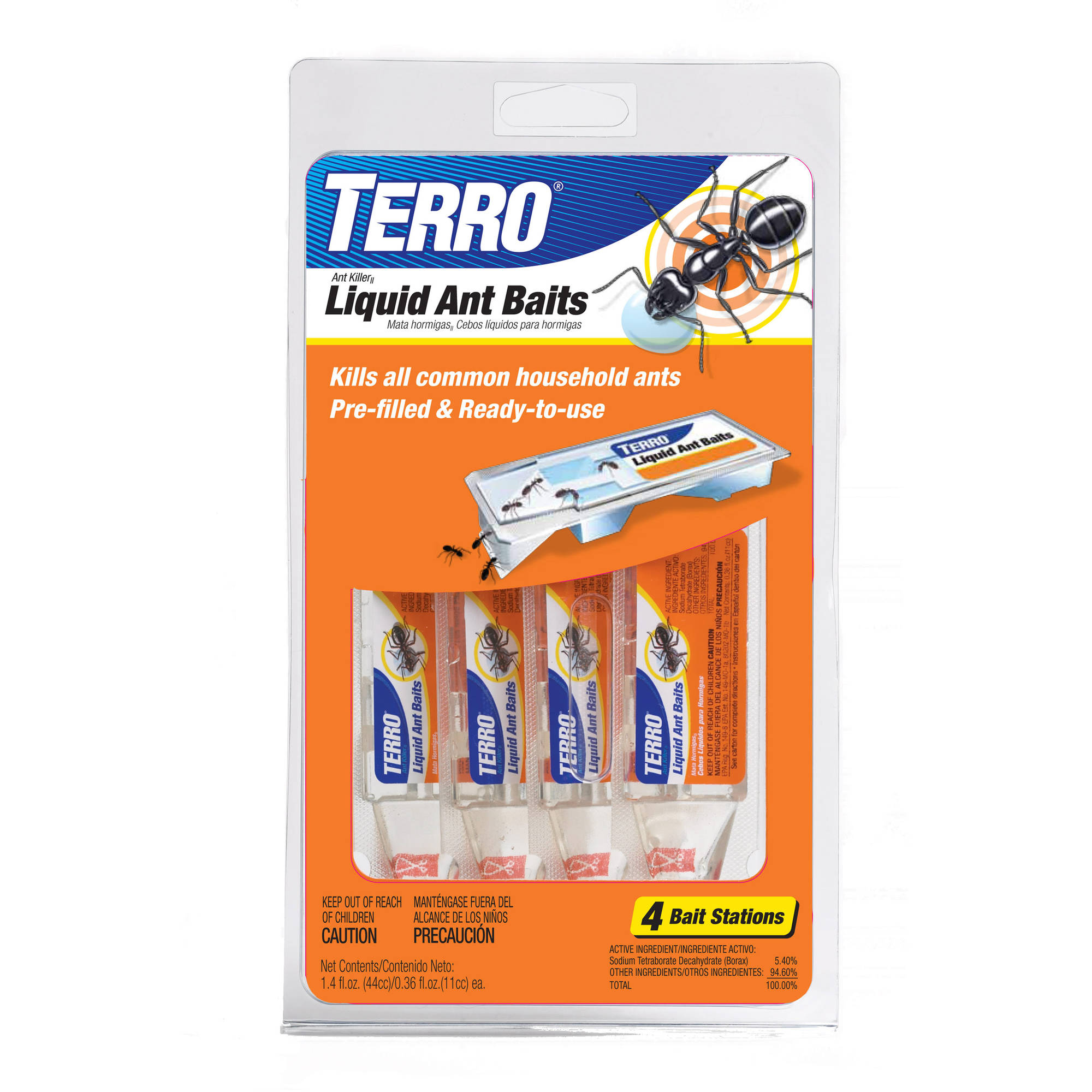 Terro: Indoor/Outdoor Liquid Baits Ant Killer II, 1.4 Fl Oz