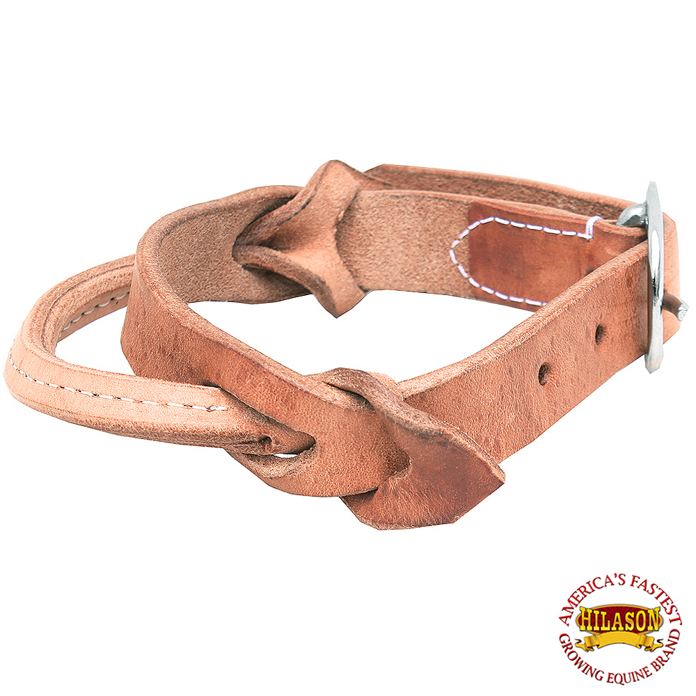 HILASON HORSE SADDLE SAFETY LEATHER NIGHT LATCH ADJUSTABLE HANDLE SMALL
