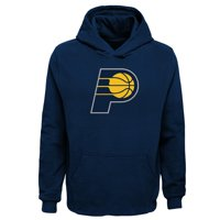 Indiana Pacers Youth Primary Logo Fleece Pullover Hoodie - Navy