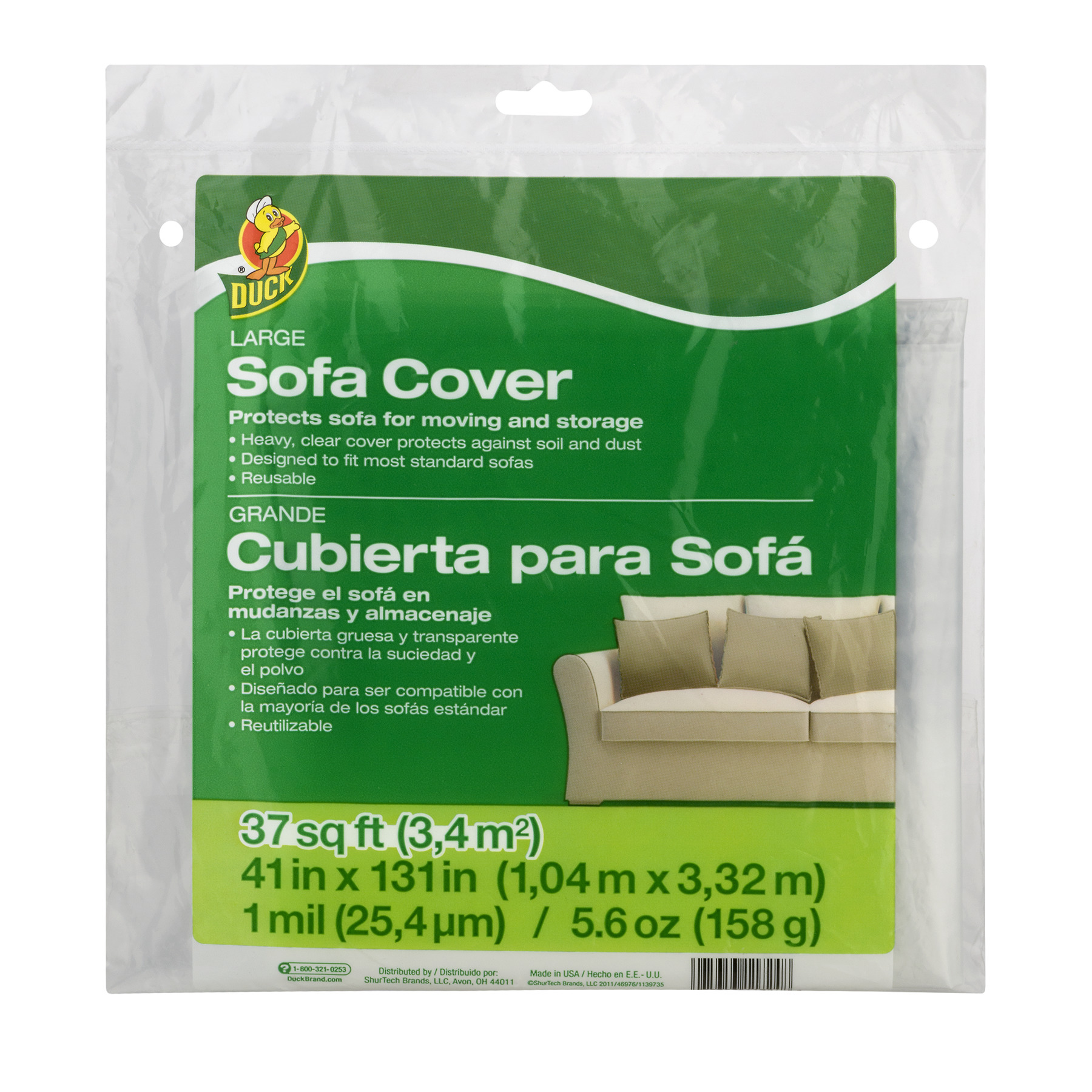 Duck Large Sofa Cover, 37.0 SQ FT