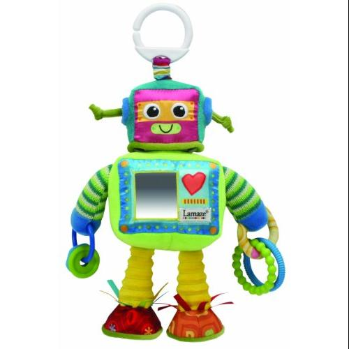 Lamaze Play & Grow Rusty the Robot Take Along Toy Multi-Colored