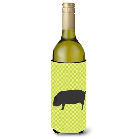Devon Large Black Pig Green Wine Bottle Beverge Insulator Hugger Bb7757literk