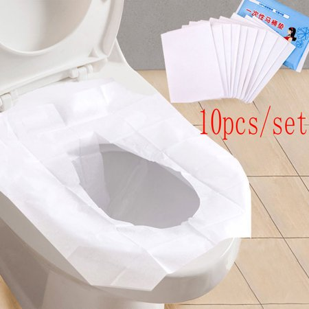Groovy Universal Toilet Disposable Sticker Toilet Seat Cover Business Travel Stool Set Ibusinesslaw Wood Chair Design Ideas Ibusinesslaworg