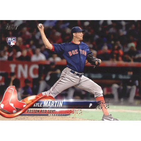 2018 Topps Update #US117 Kyle Martin Boston Red Sox Rookie Baseball Card