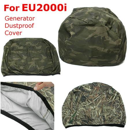 1Pc Camouflage Top Open Generator Dustproof Cover for EU2000i Generator  Accessories