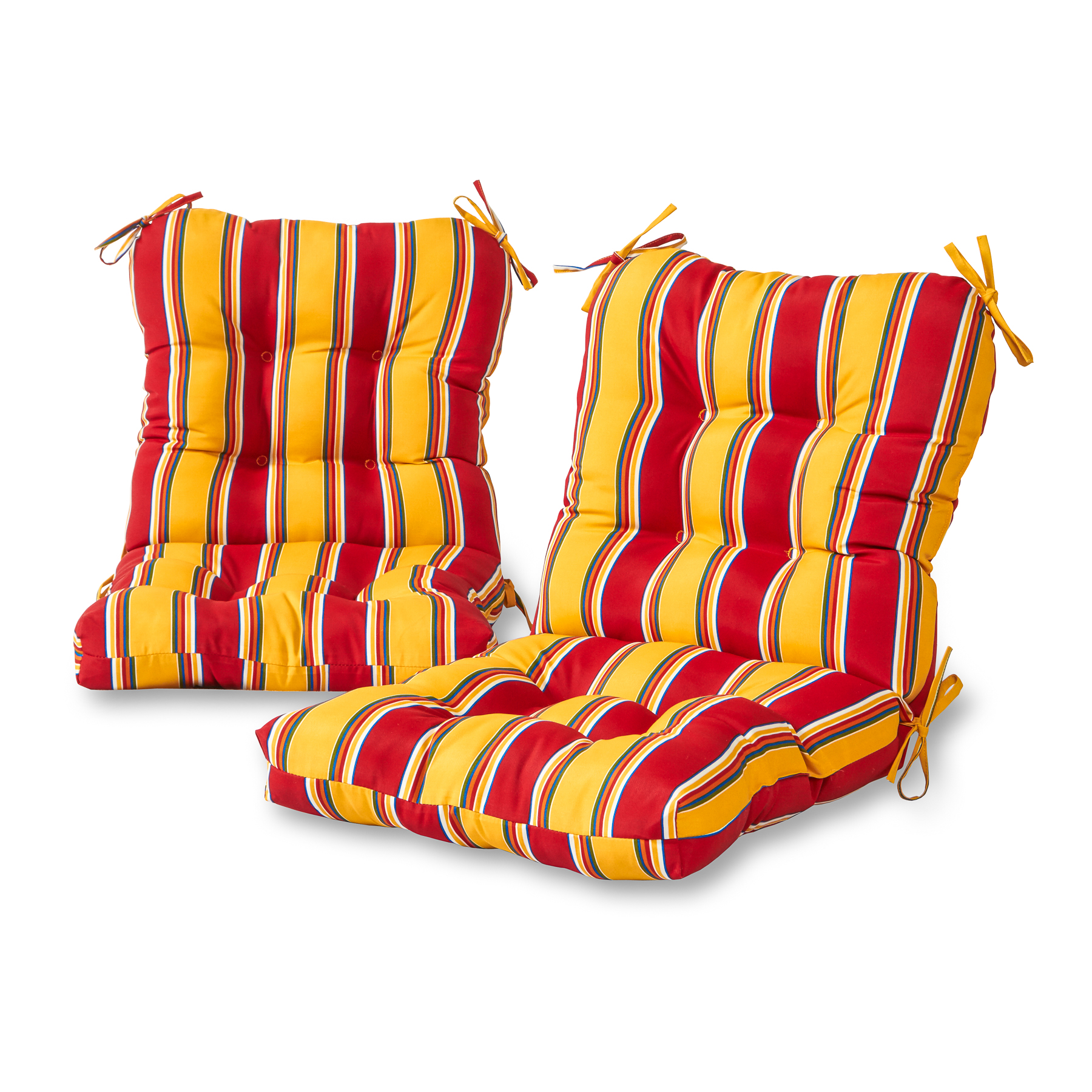 Greendale Home Fashions Carnival Outdoor Chair Cushion, Set of 2 by Greendale Home Fashions