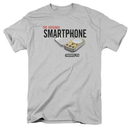 Warehouse 13 Original Smartphone Mens Short Sleeve Shirt