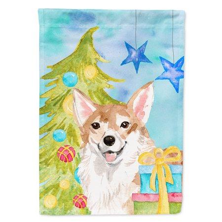 corgi christmas garden flag walmartcom - Corgi Christmas