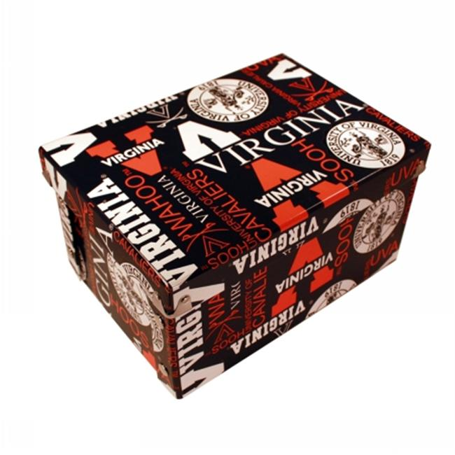 Sport Collectors Guild VirginiaUBXR327 Virginia University designs on a collapsible gift box