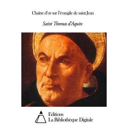 Chaîne d'or sur l'évangile de saint Jean - eBook