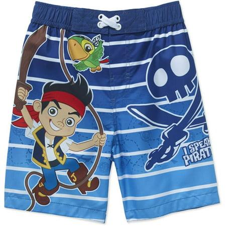 891520fd247e5 Jake and the Never Land Pirates - Toddler Boy Swim Trunks - Walmart.com