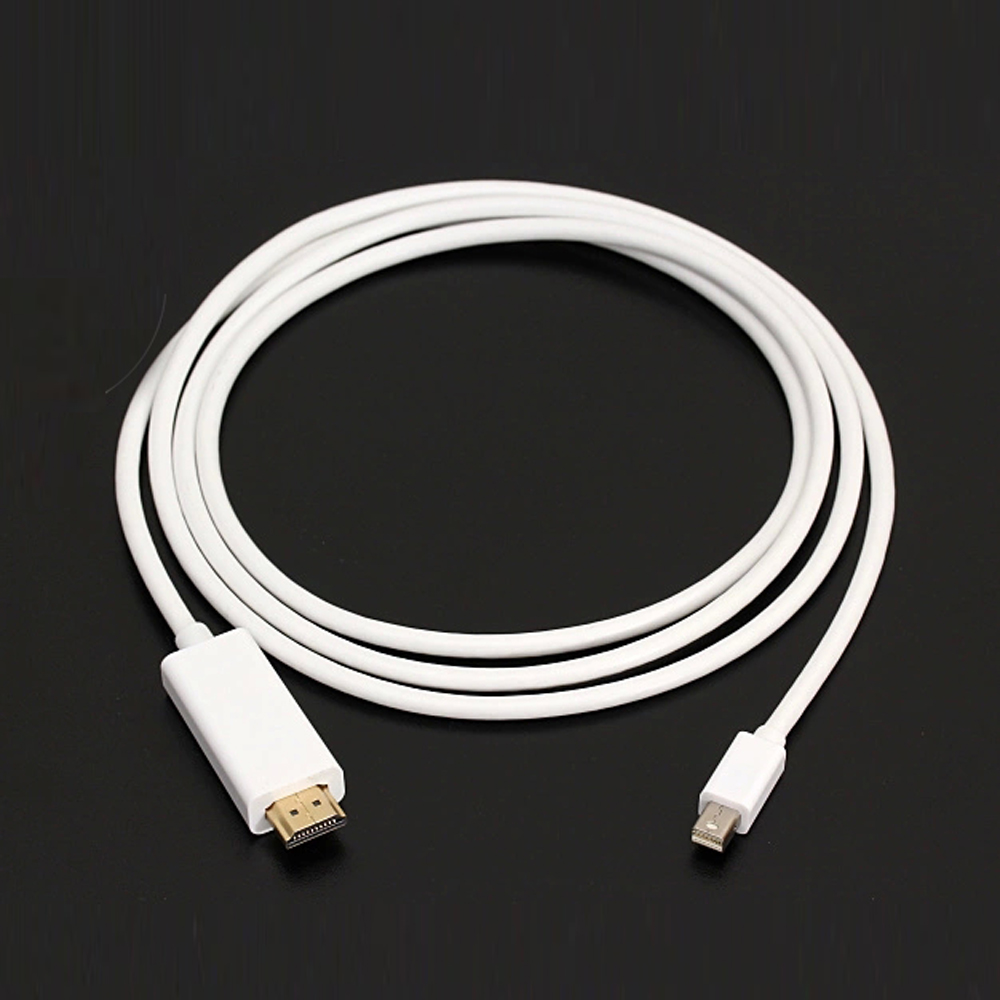 iMeshbean 10FT Thunderbolt Mini DisplayPort to HDMI Cable Adapter for Macbook Pro Air Mac