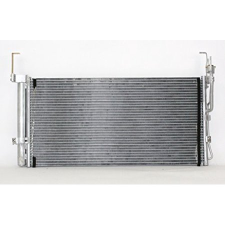 A-C Condenser - Pacific Best Inc For/Fit 3030 01-06 Hyundai Santa Fe With Receiver &