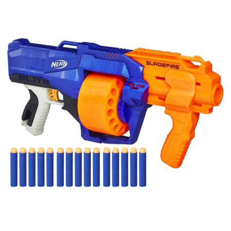 Nerf N-Strike Elite SurgeFire 15-Dart Rotating Drum