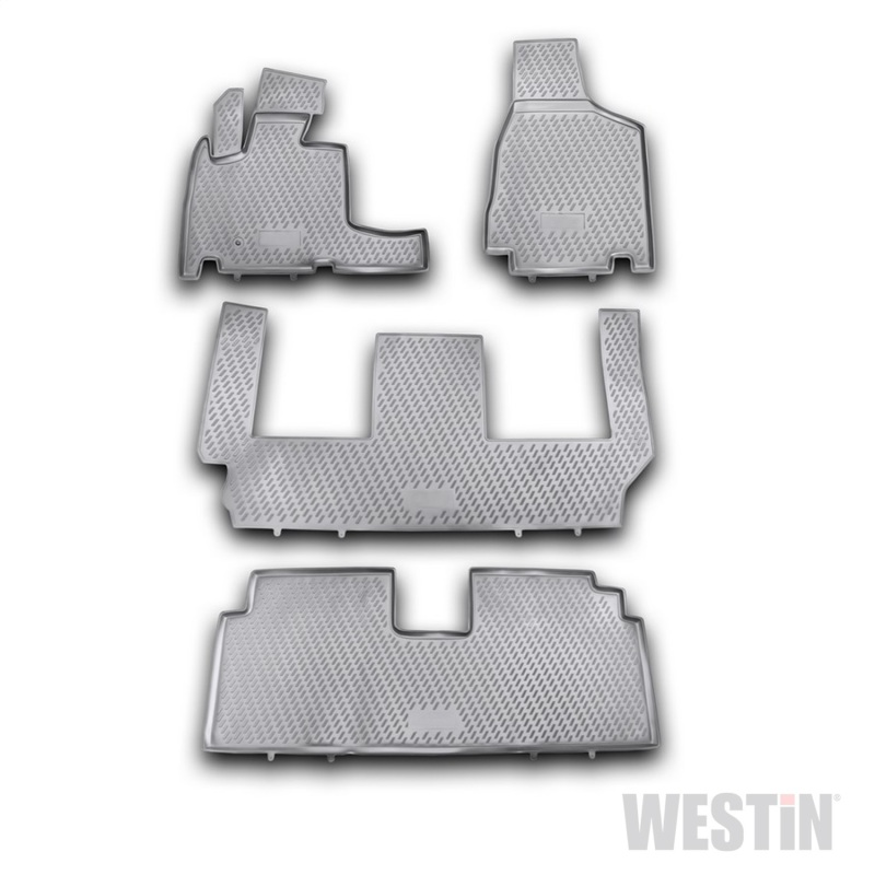 Westin 2008-2016 Chrysler/Dodge Town & Country/Grand Caravan Profile Floor Liners 4pc - Black