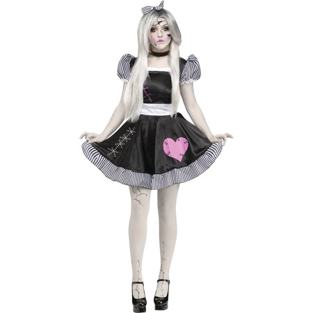 Broken Doll Adult Halloween - Doll Adult Costume