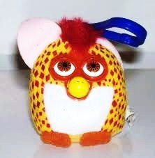 Happy meal Furby Diamondback Snake #12 Plush w Clip On 2000, By McDonalds Ship from US by