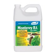 Monterey Lawn and Garden B.T. Biological Insecticide for Worm and Caterpillars