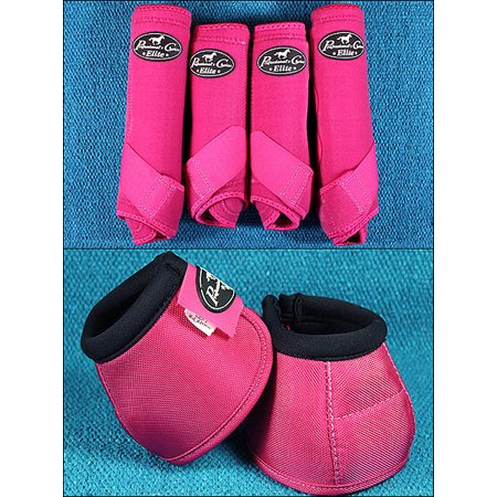 Raspberry Sml Professional Choice Sports Medicine Horse Boots Bell Ventech Elite