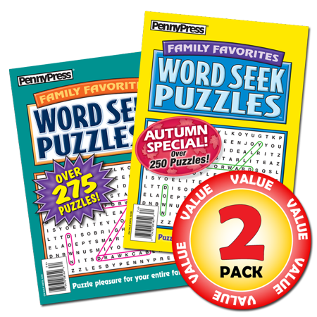 Dell Horoscope Magazine (Penny Dell Favorite Family Favorites Word Seek Puzzles 2-Pack)