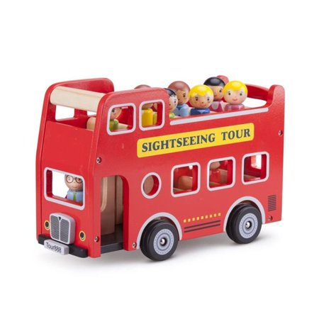 New Classic Toys - City Tour Bus With 9 Play Figures](Windy City Classic Cars)