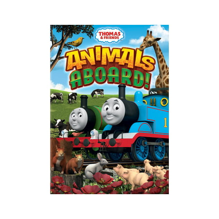 Thomas & Friends: Animals Aboard! (DVD) - Thomas The Tank Engine Halloween Dvd