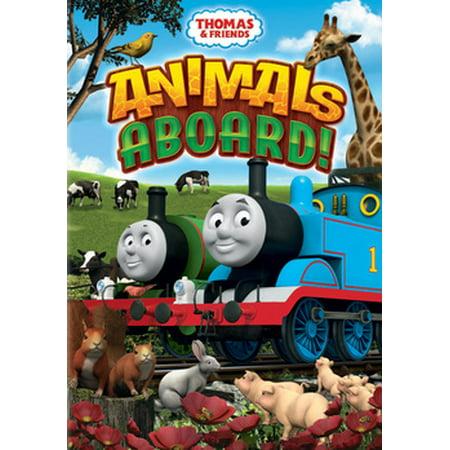 Thomas & Friends: Animals Aboard! (DVD)