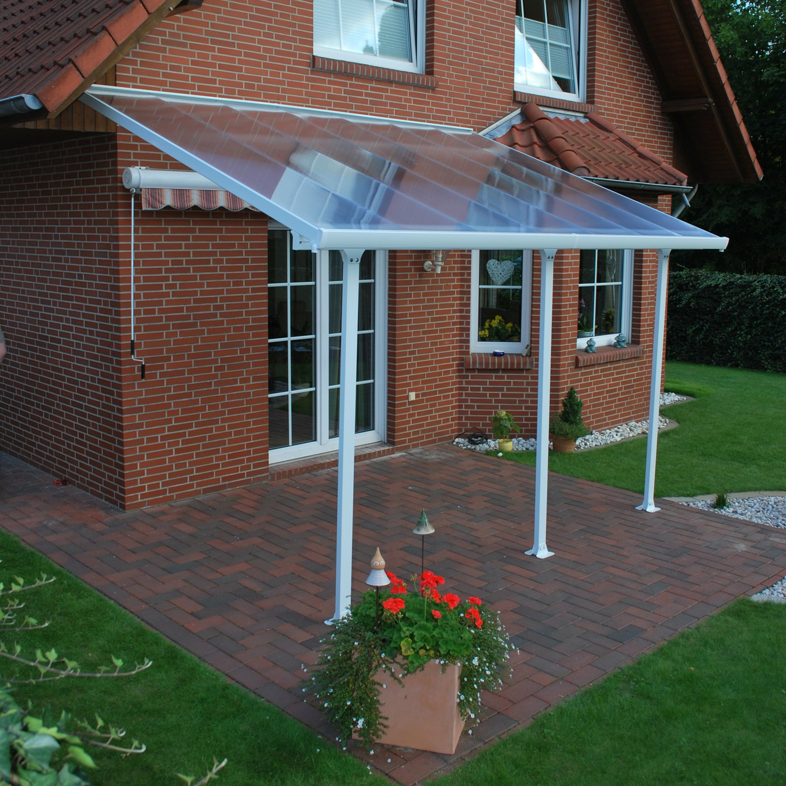 Exceptional Palram Feria Patio Cover 13 X 6 Ft. Extension Kit