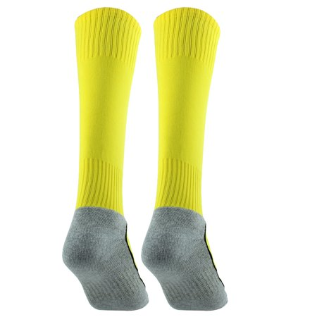 R-BAO Authorized  Outdoor Sports Soccer Football Long Socks Yellow Pair - image 3 of 5