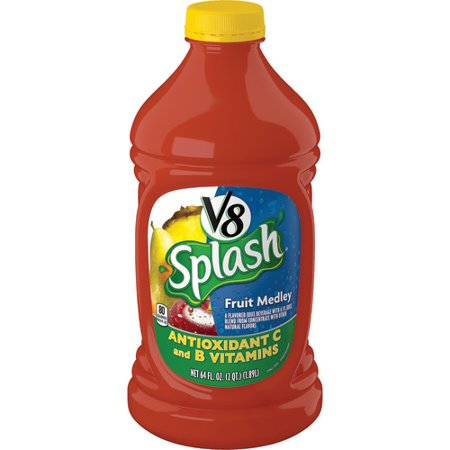 V8 Splash Fruit Medley  64 Oz